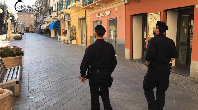 Controlli Carabinieri Albenga Finale