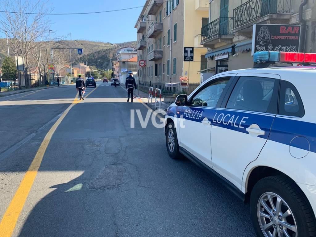 Incidente Vado Ligure auto-muro