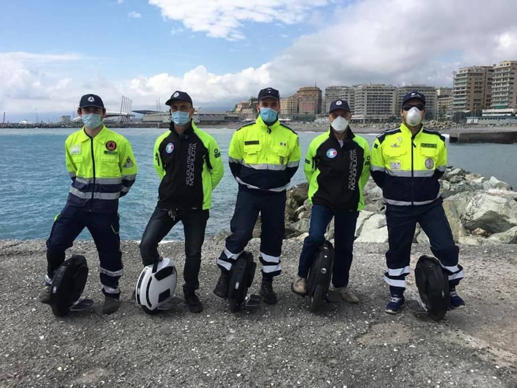 monoruota protezione civile