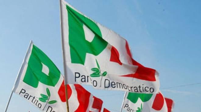 Partito Democratico pd bandiera