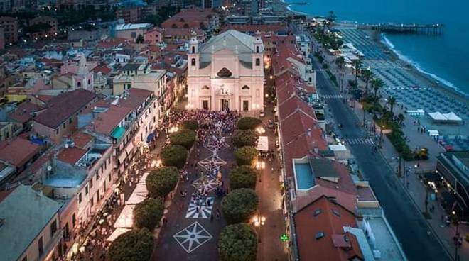pietra ligure basilica piazza