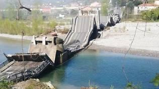 ponte crollato spezia (foto Gianluca Maruska)