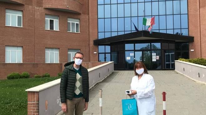 Saturimetri dono ospedale Albenga