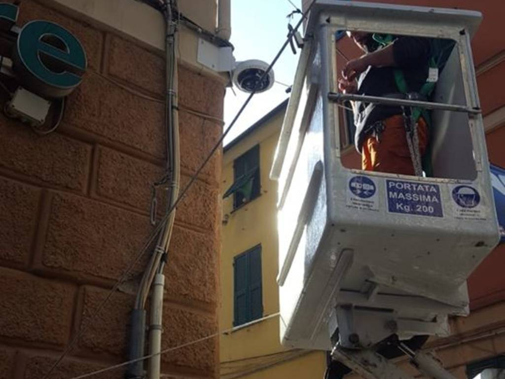 telecamere via San Vincenzo