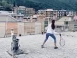 tennis sul tetto
