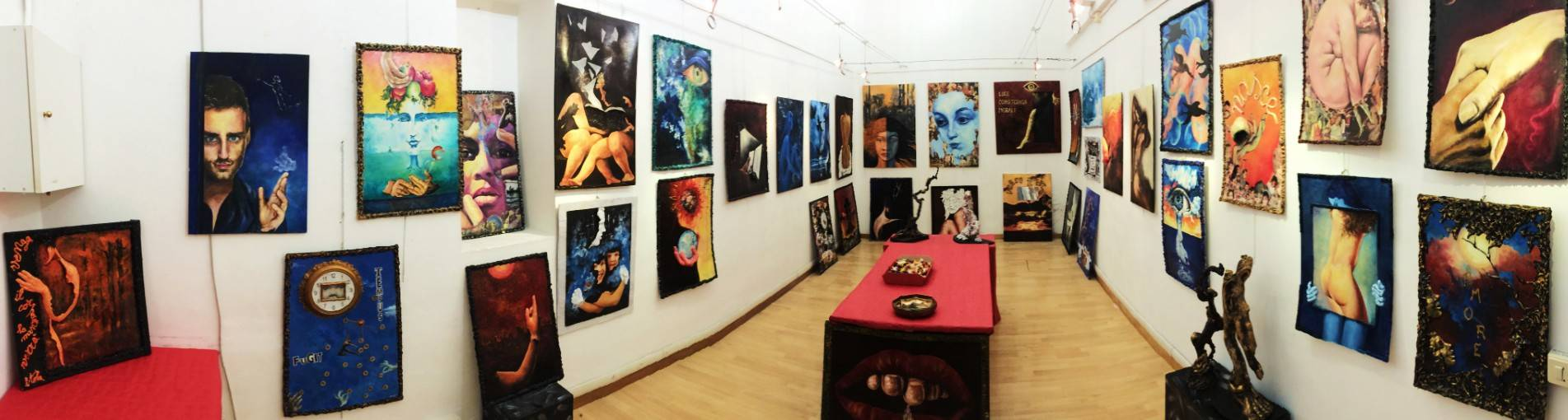 Una vita per l\'arte, nell\'arte e attraverso l\'arte