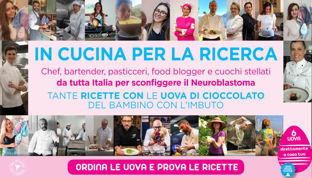 In cucina per la Ricerca contro il Neuroblastoma: la ricetta dello chef genovese Paolo Ferralasco