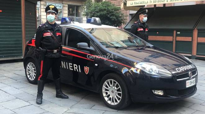 Controlli dei carabinieri alla Maddalena