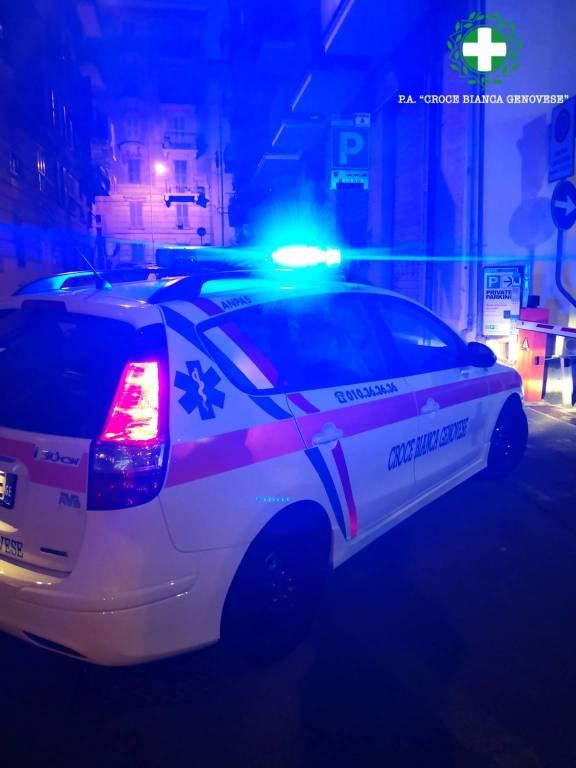 Croce bianca genovese ambulanza 118