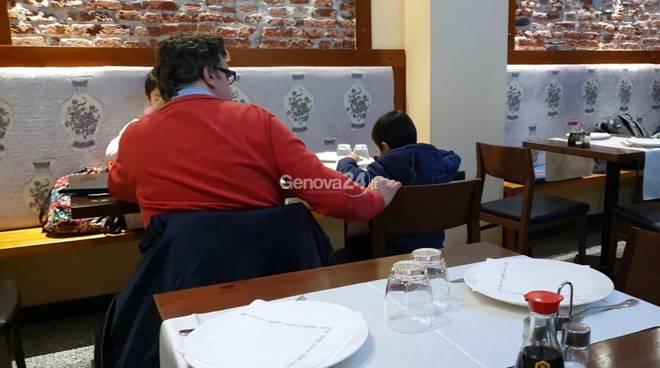 famiglia ristorante
