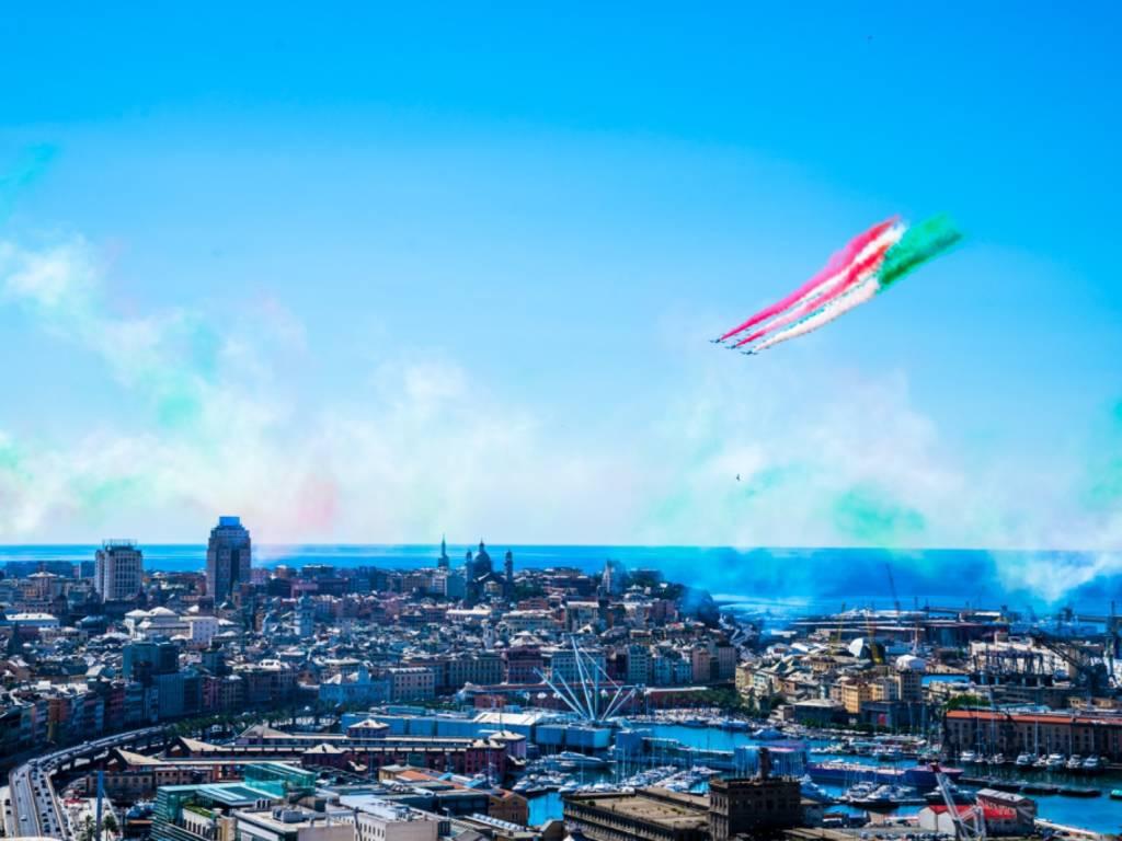 Frecce Tricolori a Genova