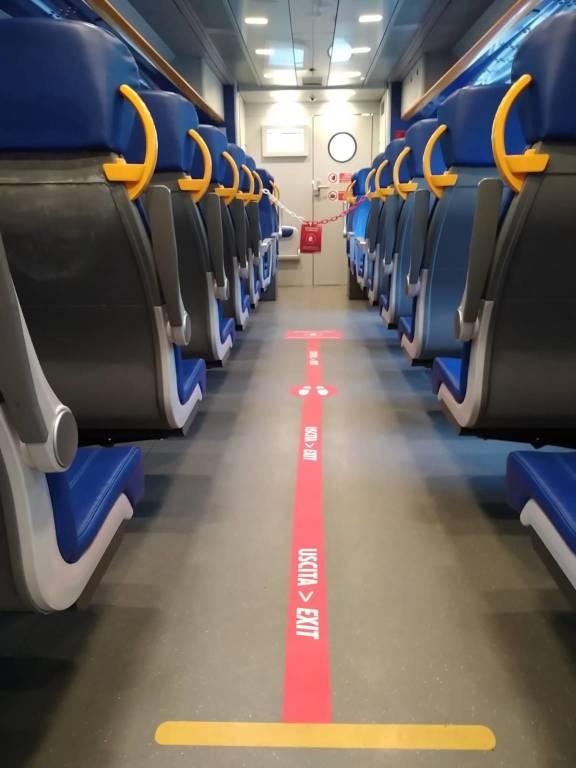 Treni Trenitalia Coronavirus