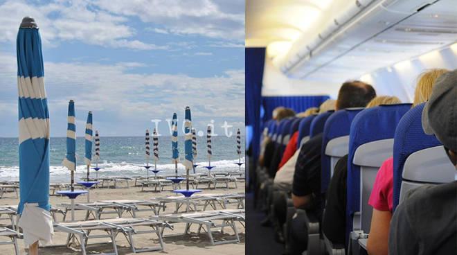 spiagge aerei