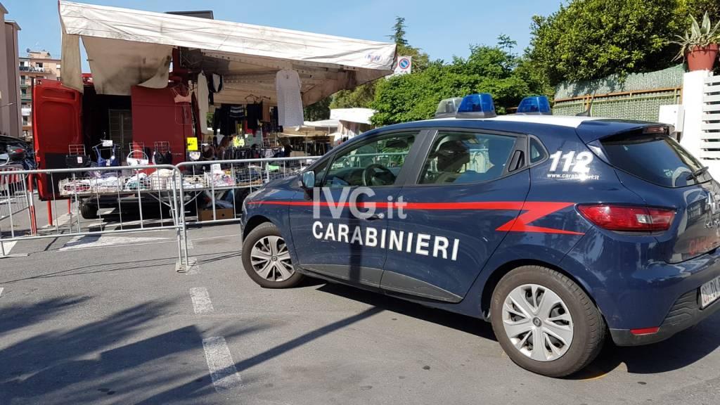 Mercato Loano carabinieri