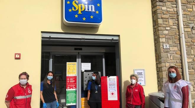 Croce Rossa Eurospin Carrello Solidale