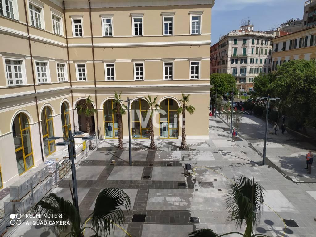Inaugurazione piazza Pertini savona ex San Paolo