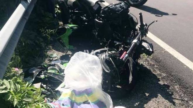 incidente moto cosseria