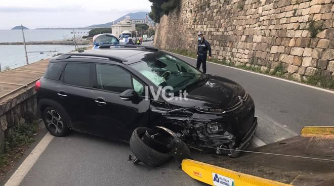 Incidente stradale Capo Santo Spirito