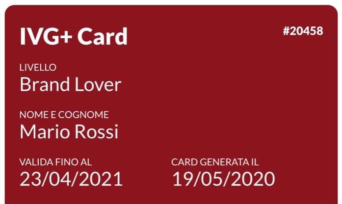 IVG+ card