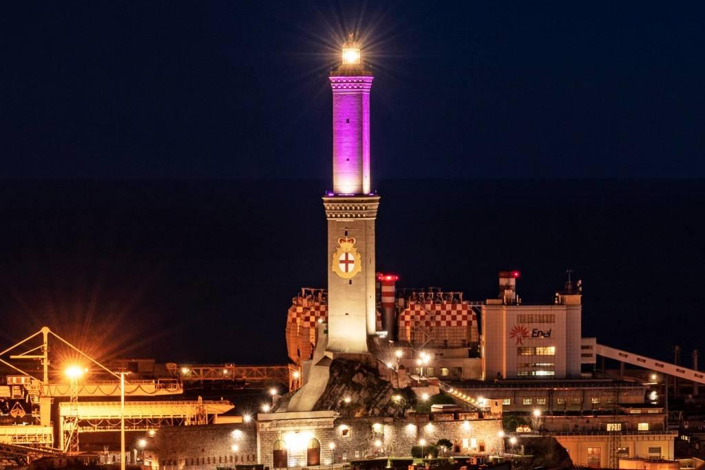 lanterna rosa