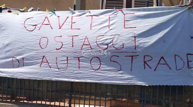 Oggetti caduti Gavette viadotto Bisagno