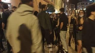 Savona darsena distanza sociale