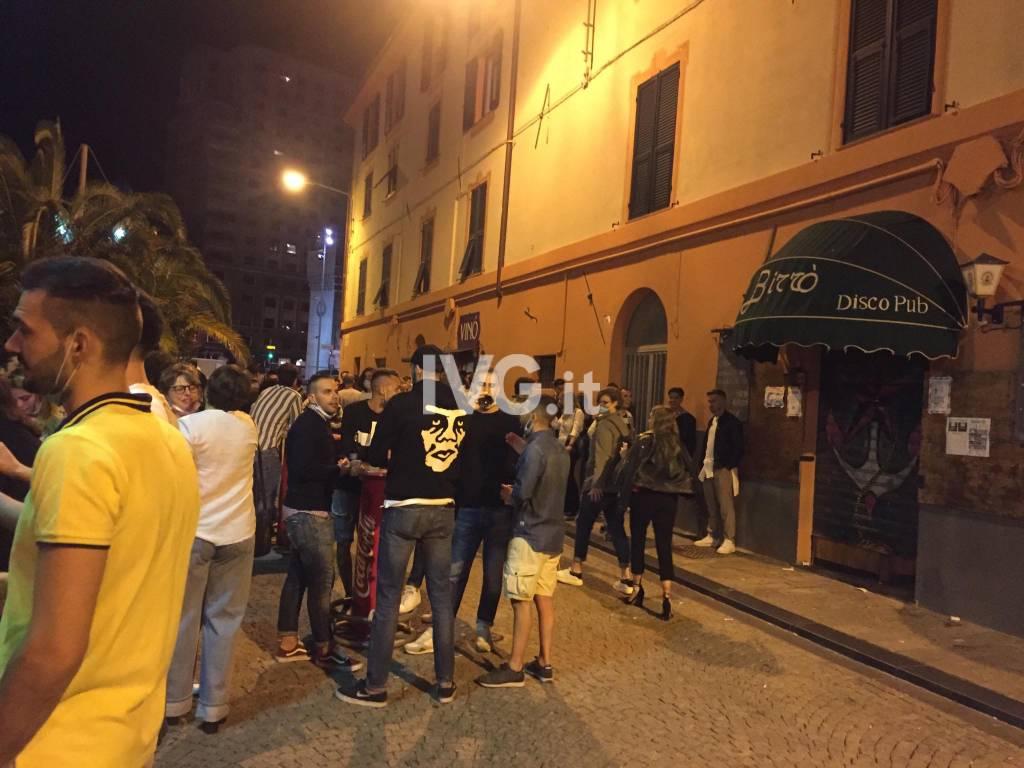 Savona, la darsena affollata ne primo weekend di fase2