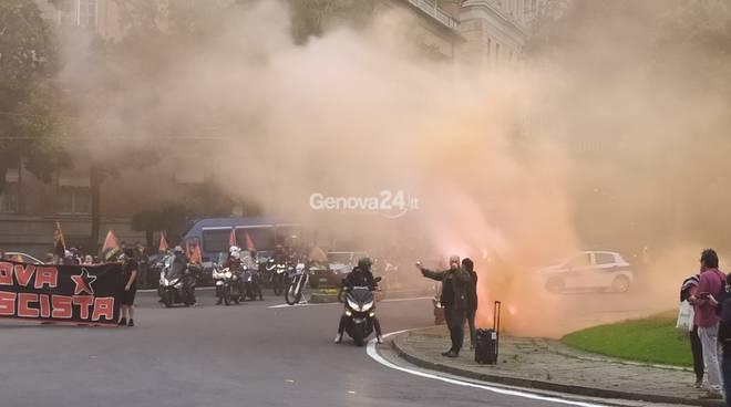 Un anno dopo piazza Corvetto, carovana a presidio di Genova antifascista
