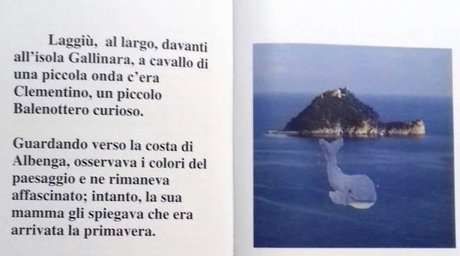 Albenga libro Coronavirus bambini Scuola San Clemente