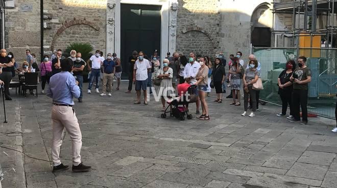 Albenga, manifestazione contro la privatizzazione dell'ospedale