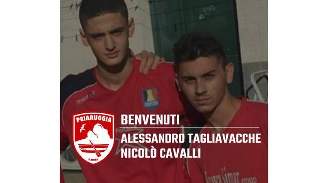 Alessandro Tagliavacche e Nicolò Cavalli,