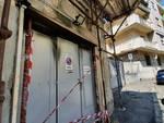 Attentato incendiario nella rimessa della polizia locale di Marassi