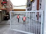 carabinieri stabile abbandonato