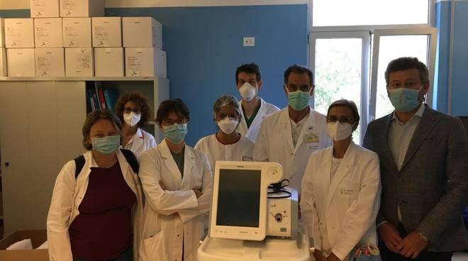 CS: Ultimata oggi la consegna dei 2 respiratori polmonari donati all'ASL 3 di Genova dalla società cooperativa Idealservice
