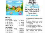 L\'Amatori Nuoto Savona apre il Centro Estivo Sportivo