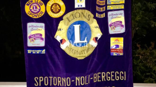 DONAZIONE LIONS alla CASA DI RIPOSO VILLA ROSA di NOLI
