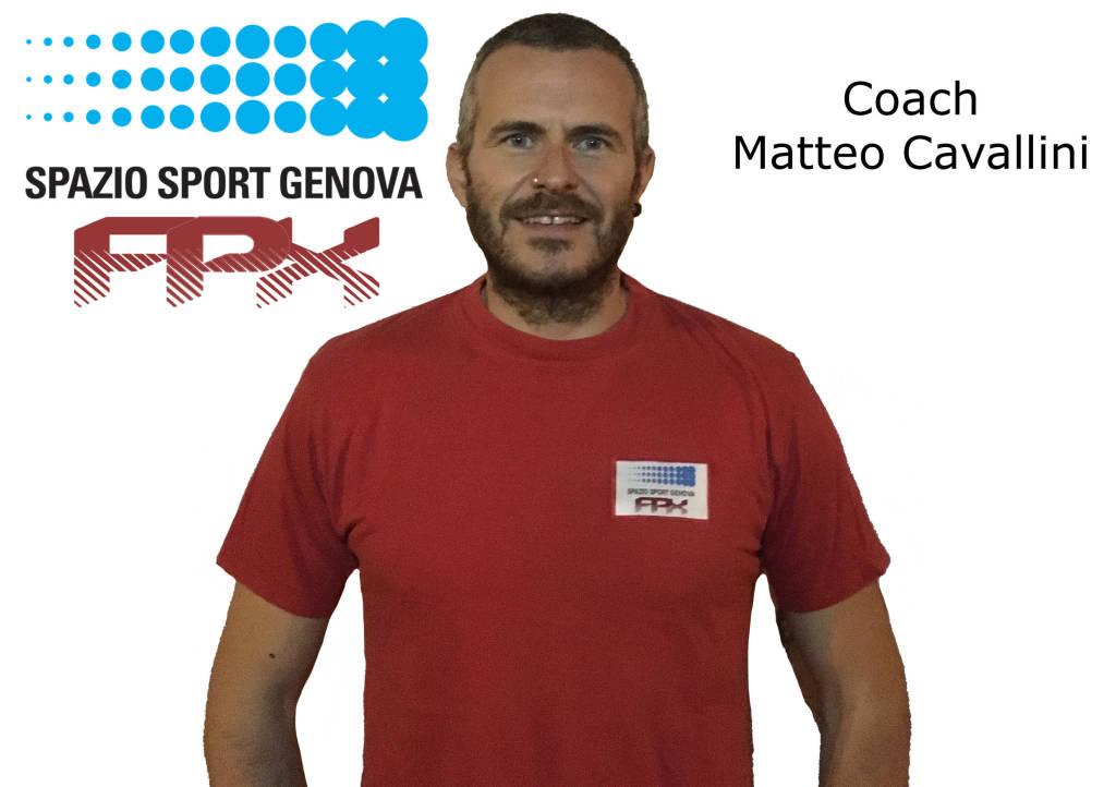 Matteo Cavallini nuovo coach di Spazio Sport volley