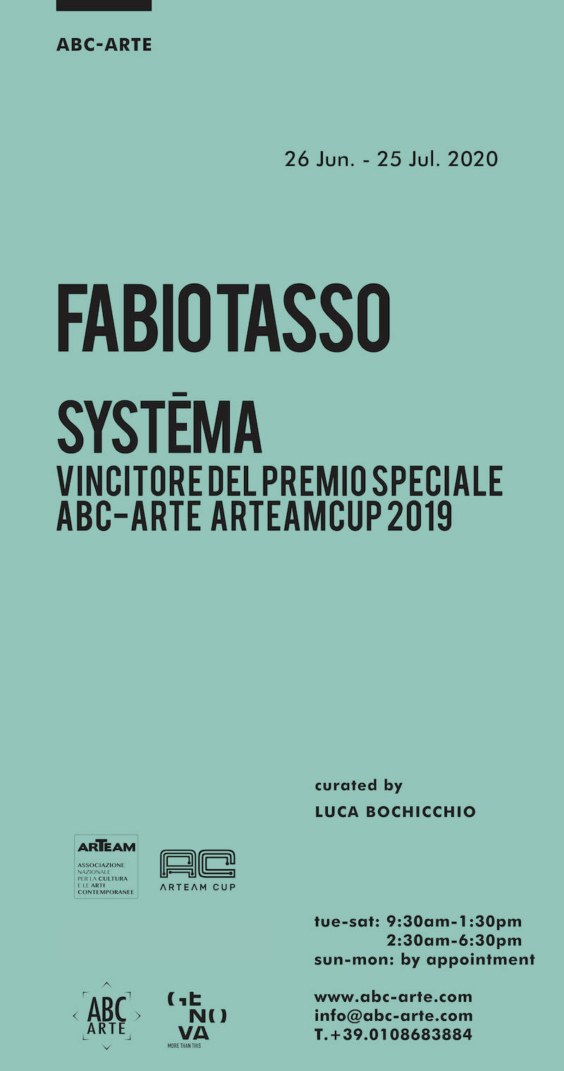 Opening Fabio Tasso. Systema
