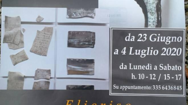 """""""Elicriso"""" mostra Carcare Rosanna La Spesa e Beatrice Giannoni"""