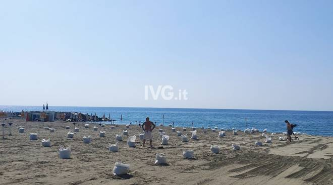 Coronavirus Spiaggia Albisola