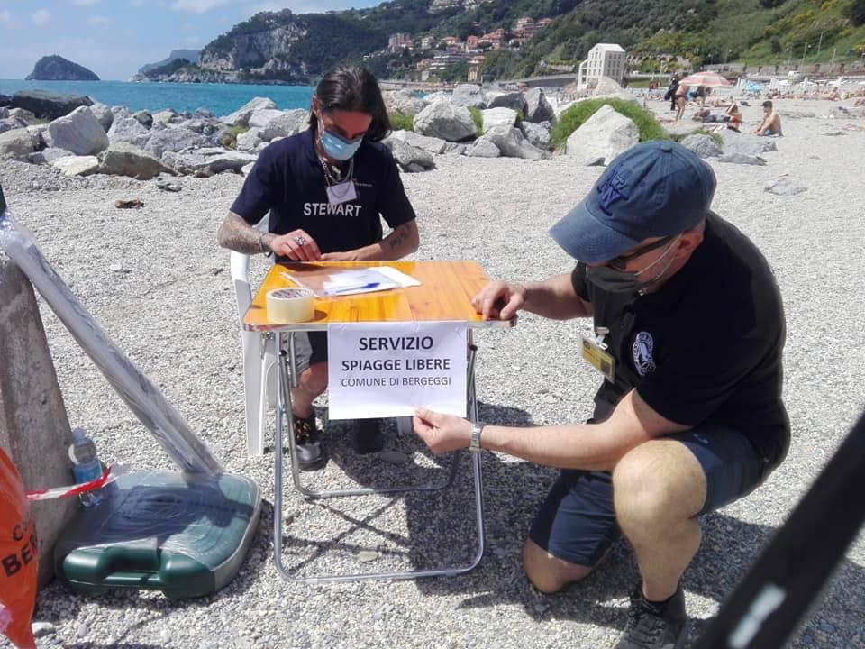 Spiagge Libere Bergeggi Coronavirus