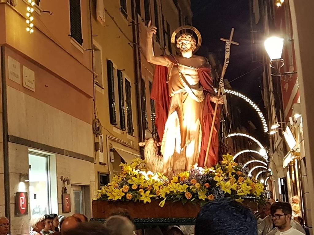 Statua San Giovanni Battista Loano