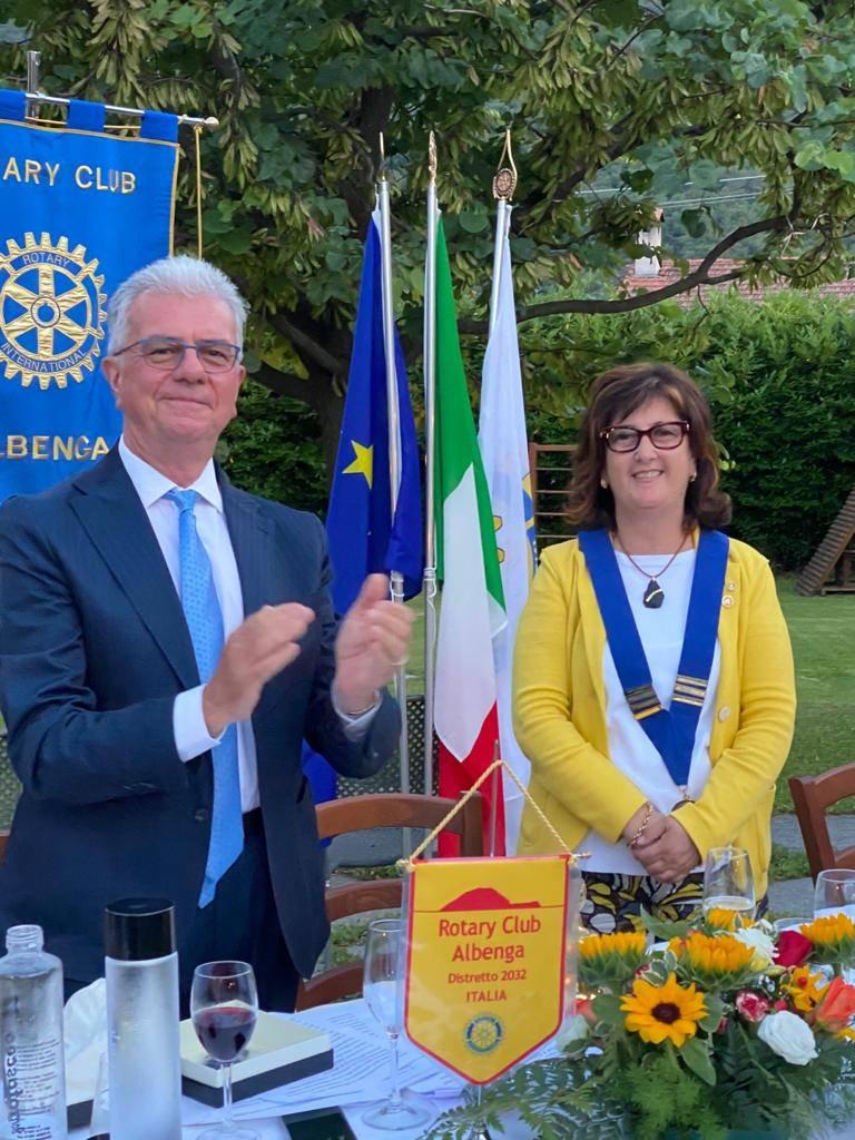 Anna Maria Rebuttato Rotary Albenga
