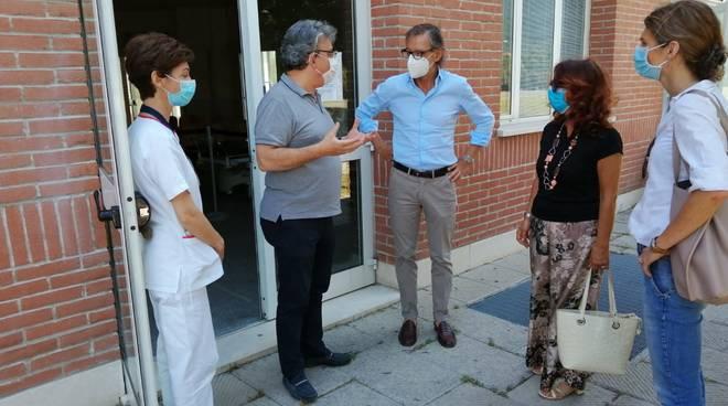 Tomatis Visita Ospedale Albenga PPI