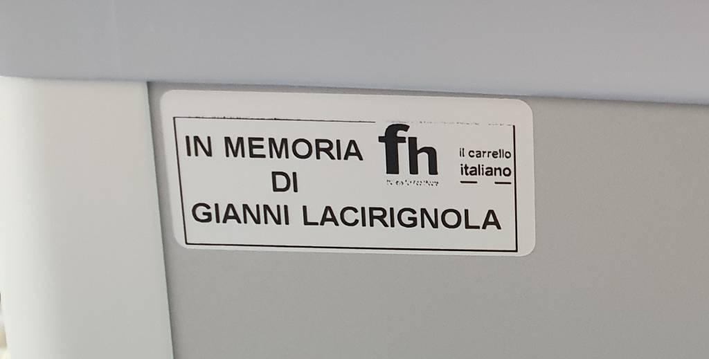 Donazione Gianni Lacirignola