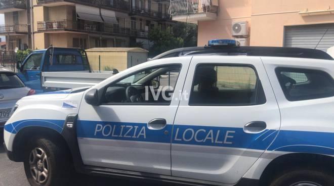 Albenga Incidente Bici Motocarro Polizia Locale