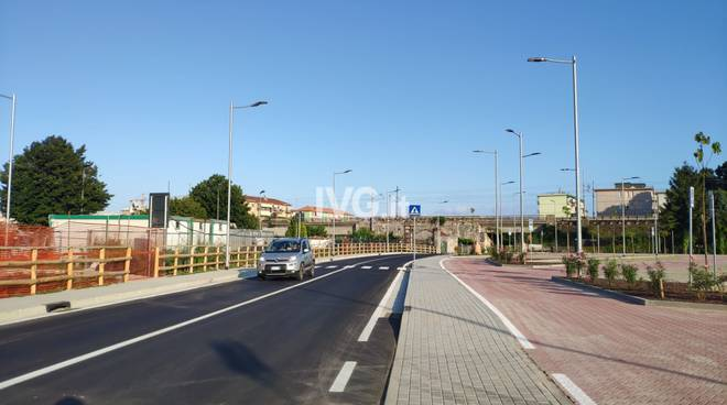 Nuova strada località Galaie Albissola