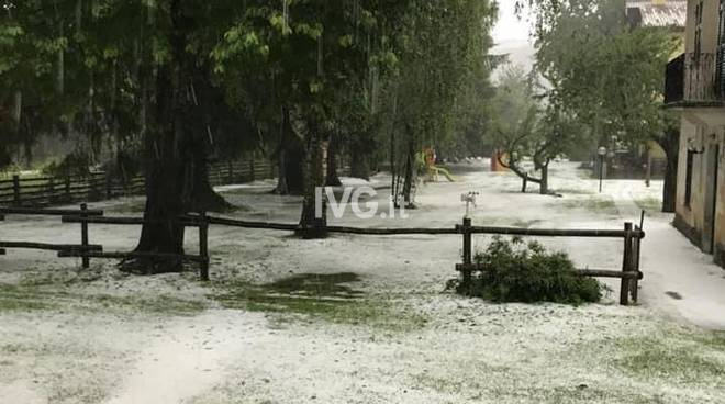 Grandinata in Valbormida