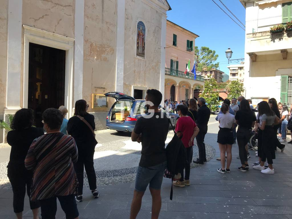 I funerali di Luigi Tenderini