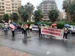Il flash mob degli infermieri a Savona